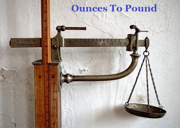 How Many Ounce in a Pound
